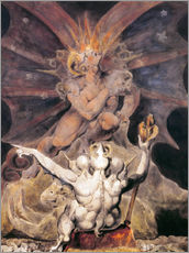 Galleritryck  The Number of the Beast is 666 - William Blake