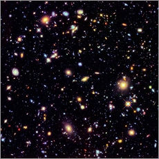 Galleritryck  Hubble Extreme Deep Field - Nasa