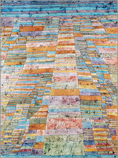 Galleritryck  Main path and Byways - Paul Klee