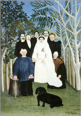 Galleritryck  A wedding in the countryside - Henri Rousseau