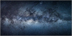 Självhäftande poster  Milky Way Panorama - Jan Christopher Becke