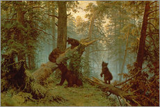 Galleritryck  Morning in a pine forest - Ivan Ivanovich Shishkin