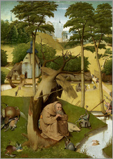 Galleritryck  The temptation of St.. Antonius - Hieronymus Bosch