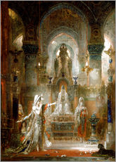 Galleritryck  Salome Dancing before Herod - Gustave Moreau