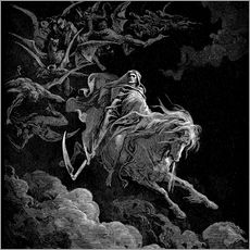 Galleritryck  The Vision of Death - Gustave Doré