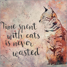 Galleritryck  Time with cats - Andrea Haase