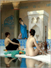 Galleritryck  After the Bath - Jean Leon Gerome