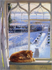 Galleritryck  Cat in the Window - Timothy Easton