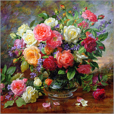 Galleritryck  Roses - the perfection of summer - Albert Williams