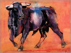 Galleritryck  Black bull - Mark Adlington