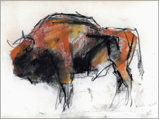 Galleritryck  Sketch of a bull - Mark Adlington
