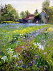 Galleritryck  Cottage in the country - Timothy Easton