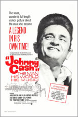 Canvastavla  Johnny Cash! The Man, His World, His Music - Entertainment Collection