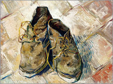 Galleritryck  A Pair of Shoes - Vincent van Gogh