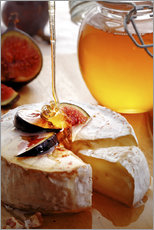 Galleritryck  Brie Cheese and Figs with honey - Johan Swanepoel