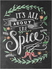 Galleritryck  It's all about the Spice - Lily & Val