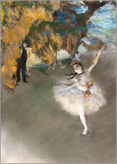 Galleritryck  The Star (Dancer on Stage) - Edgar Degas