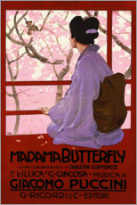 Poster  Puccini, Madame Butterfly - Leopoldo Metlicovitz