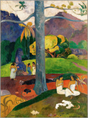Akrylglastavla  Mata Mua (In Olden Times) - Paul Gauguin