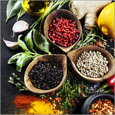 Galleritryck  Herbs and spices