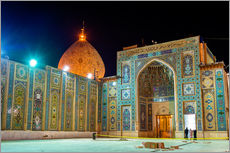 Galleritryck  Shah Cheragh, a funerary monument and mosque in Shiraz, Iran