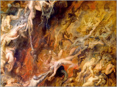 Galleritryck  Hell of the Damned (Detail) - Peter Paul Rubens