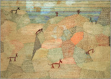 Galleritryck  Landscape with Donkeys - Paul Klee