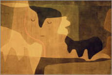 Canvastavla  Siesta - Paul Klee