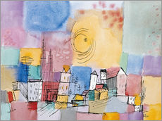 Galleritryck  German city - Paul Klee