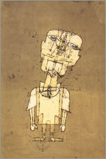 Självhäftande poster  Ghost of a Genius - Paul Klee