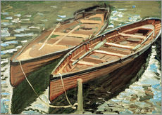 Galleritryck  Boats - Claude Monet