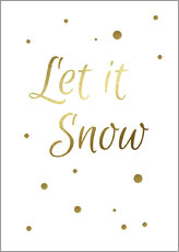 Galleritryck  Let It Snow - Finlay and Noa