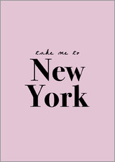 Galleritryck  Take Me To New York - Take me to New York - Finlay and Noa