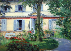 Galleritryck  Country house in Rueil - Edouard Manet
