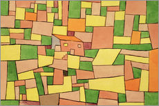 Galleritryck  Country House of Thomas R. - Paul Klee