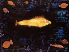 Premiumposter  The Goldfish - Paul Klee