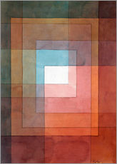 Galleritryck  White framed polyphonically - Paul Klee
