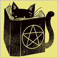 Galleritryck  Witchcraft Cat - Tobe Fonseca