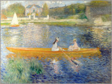 Galleritryck  The Seine at Asnieres - Pierre-Auguste Renoir