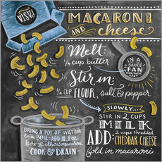 Galleritryck  Macaroni and Cheese recept - Lily & Val