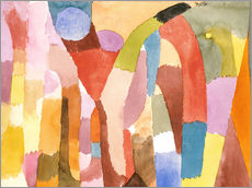 Galleritryck  Movement of Vaulted Chambers - Paul Klee
