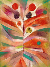 Canvastavla  Feather Plant - Paul Klee