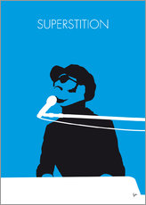 Galleritryck  No039 MY STEVIE WONDER Minimal Music poster - chungkong