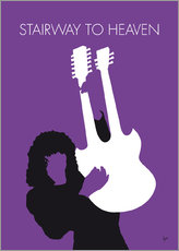 Galleritryck  No011 MY Led zeppelin Minimal Music poster - chungkong