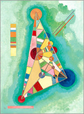 Galleritryck  Variegation in the triangle - Wassily Kandinsky