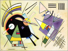 Galleritryck  Black and Violet - Wassily Kandinsky