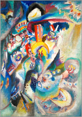 Galleritryck  Moscow II (Red Square) - Wassily Kandinsky
