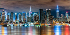 Galleritryck  Midtown Skyline, New York - Sascha Kilmer