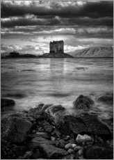 Galleritryck  Castle Stalker, Scotland - Martina Cross