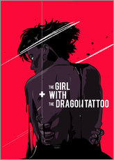 Galleritryck  The Girl with The Dragon Tattoo - Fourteenlab